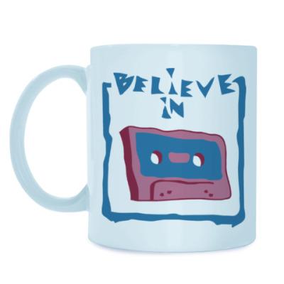 Кружка Верю в кассеты