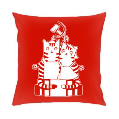 Подушка Котики СССР