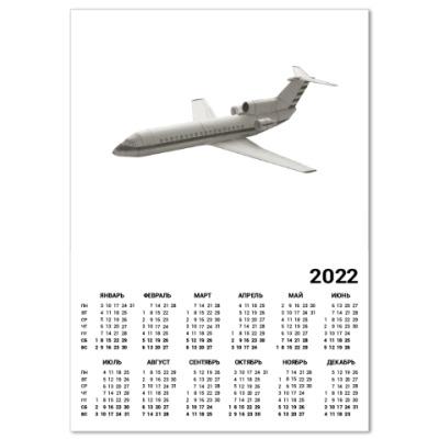 Календарь Модель самолета