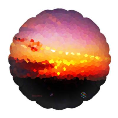 Подушка Кристальный закат