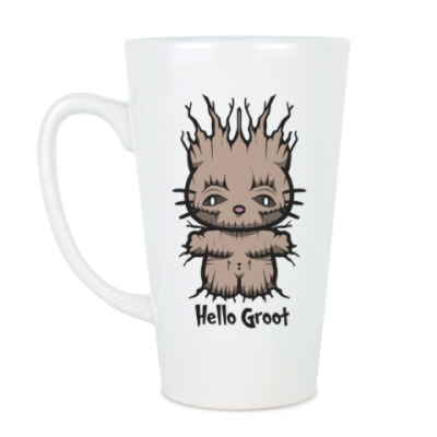 Чашка Латте Привет Грут