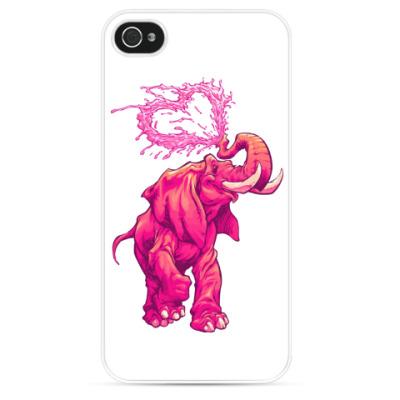 Чехол для iPhone Счастливый слоник