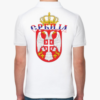 Рубашка поло Малый герб Сербии