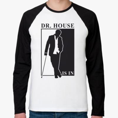 Футболка реглан с длинным рукавом    Dr. House
