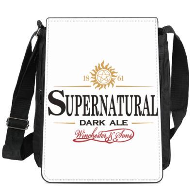 Сумка-планшет Supernatural - Темный эль