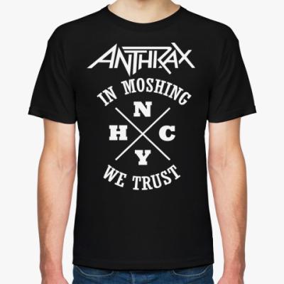 Футболка Anthrax