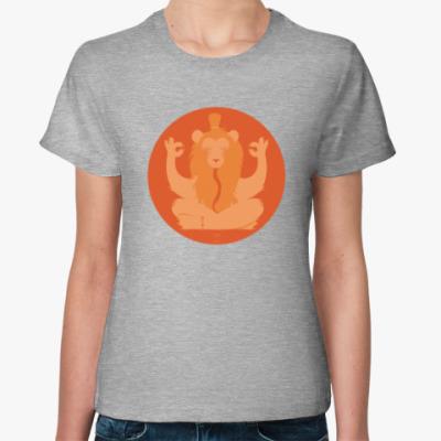 Женская футболка Animal Zen: L is for Lion