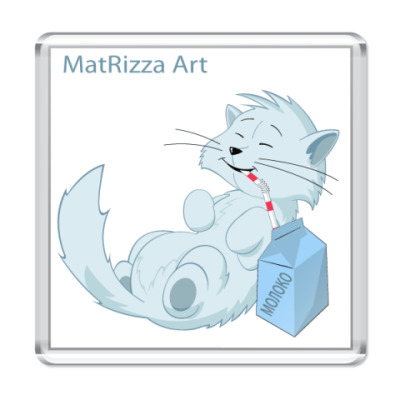 Магнит  Молочный кот