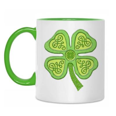 Кружка 'Кельтский клевер'