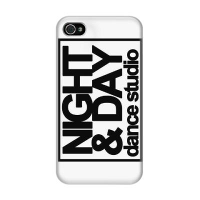 Чехол для iPhone 4/4s Чехол Night and Day