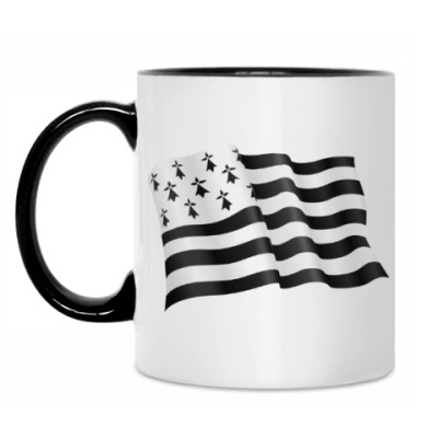 Кружка Бретонский флаг