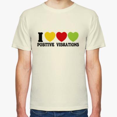 Футболка Люблю позитивные вибрации