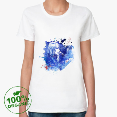 Женская футболка из органик-хлопка Янка Дягилева