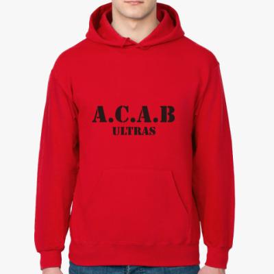 Толстовка худи A.C.A.B ultras