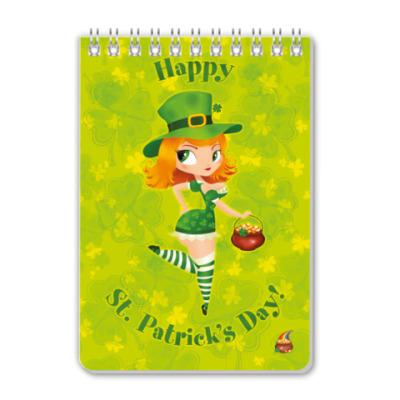 Блокнот St. Patrick day