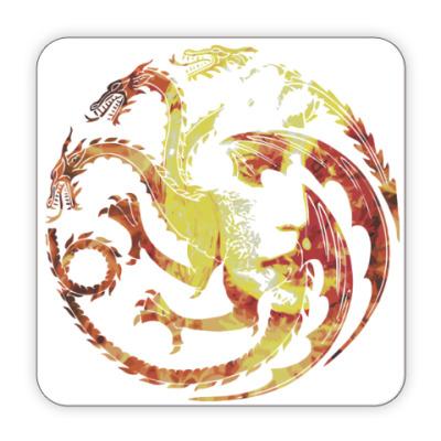 Костер (подставка под кружку) Khaleesi