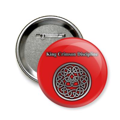 Значок 58мм King Crimson