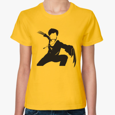 Женская футболка Росомаха