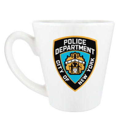 Чашка Латте Police