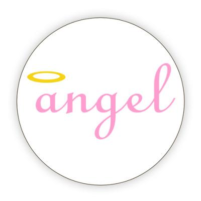 Костер (подставка под кружку) Ангел