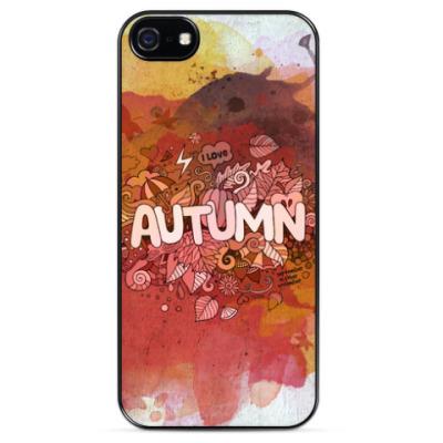Чехол для iPhone 'Я люблю Осень'