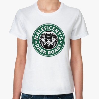 Классическая футболка Maleficents Dark Roast