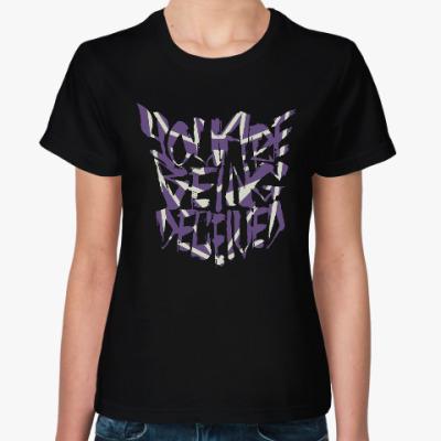 Женская футболка Десептиконы