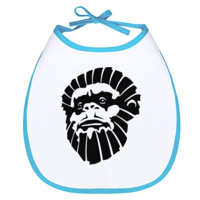 Слюнявчик Лицо обезьяны