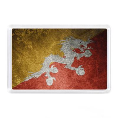Магнит Флаг Бутана