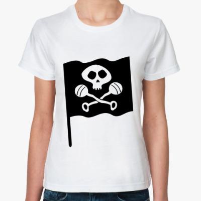 Классическая футболка Черепок