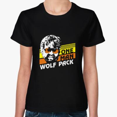 Женская футболка Wolfpack. Человек-волчья стая.