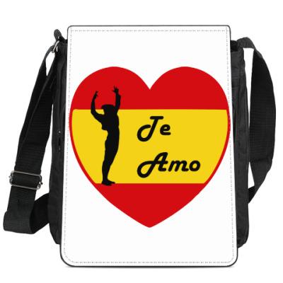 Сумка-планшет Я люблю тебя по-испански