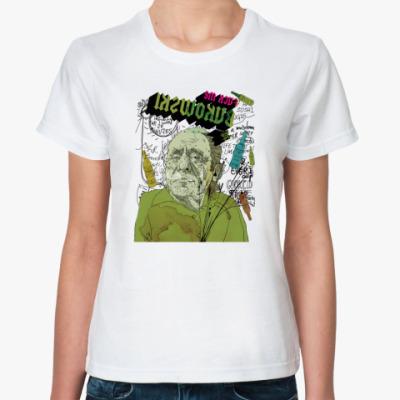 Классическая футболка  'Буковски'