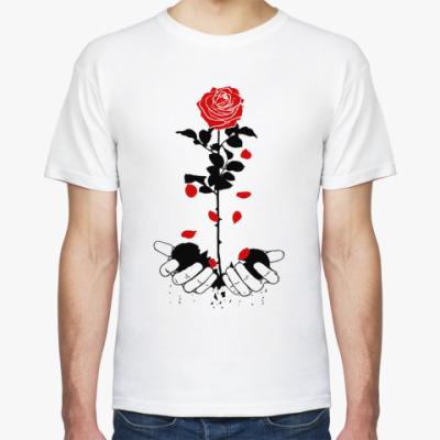 Футболка heart rose