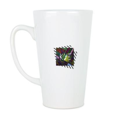 Чашка Латте куб