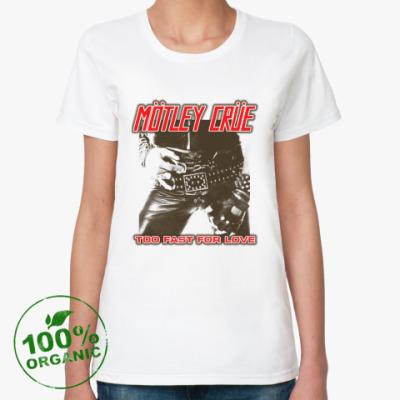 Женская футболка из органик-хлопка Motley Crue
