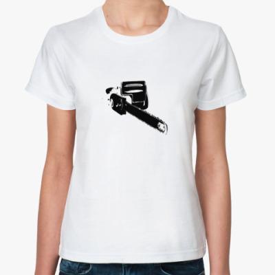 Классическая футболка Электропила