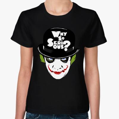 Женская футболка Джокер