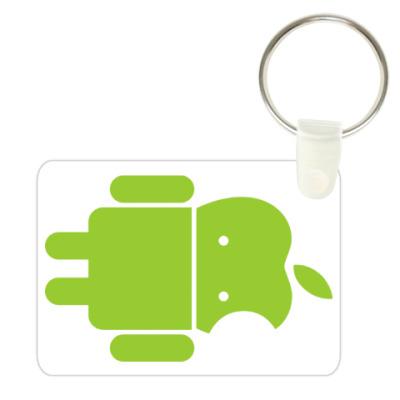 Андроид голова-яблоко