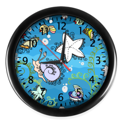 Настенные часы Морская тема