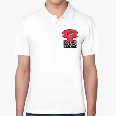 Рубашка поло Science! Ядерная физика
