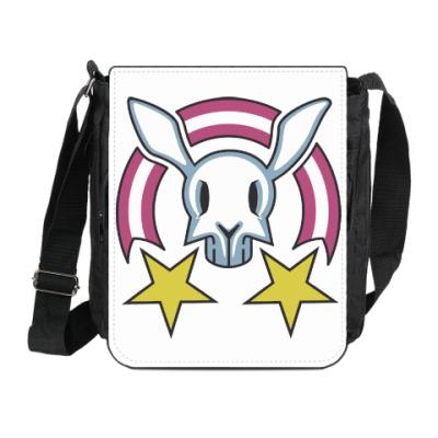 Сумка на плечо (мини-планшет) Звездный заяц