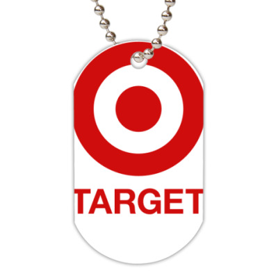 Жетон dog-tag  Target