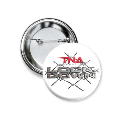 Значок 37мм TNA Lockdown