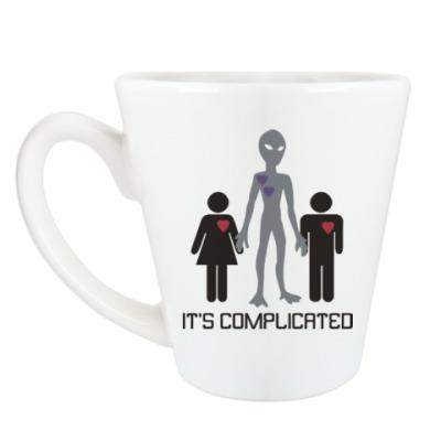 Чашка Латте Всё сложно