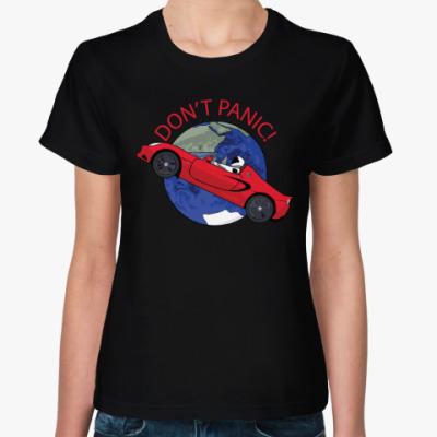 Женская футболка Первый запуск Falcon Heavy