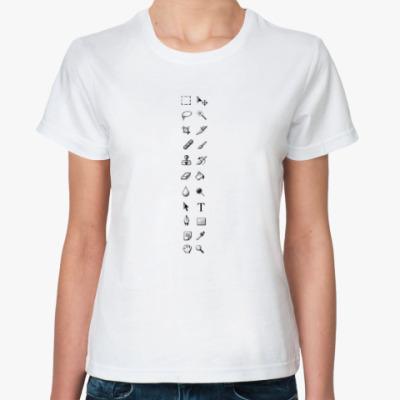 Классическая футболка Photoshop junkie