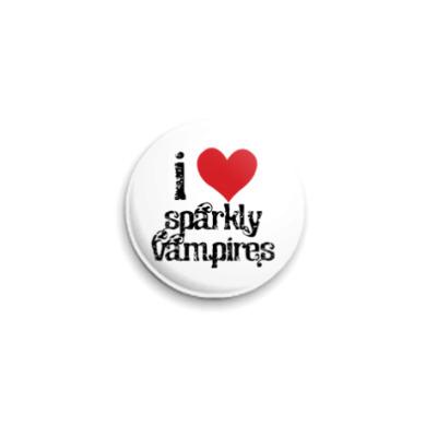 Значок 25мм Sparkly vampires