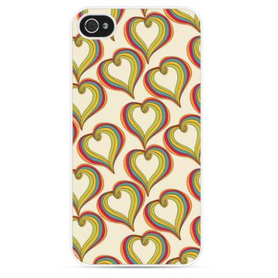 Чехол для iPhone Абстрактная любовь
