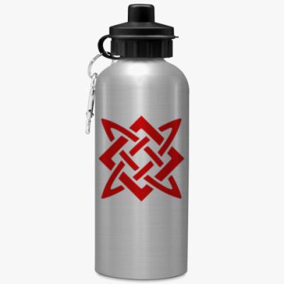 Спортивная бутылка/фляжка Звезда Руси (Сварогов Квадрат)